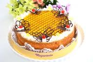Medus torte ''Dzintara krasts''