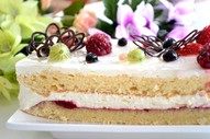 Mājas biskvīta kūka